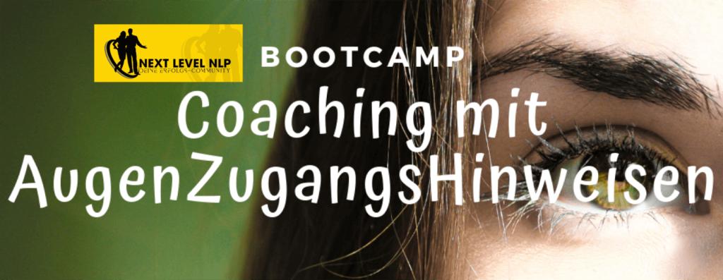 Titelbild des Bootcamps-Coaching mit Augenzugangshinweisen-EMI