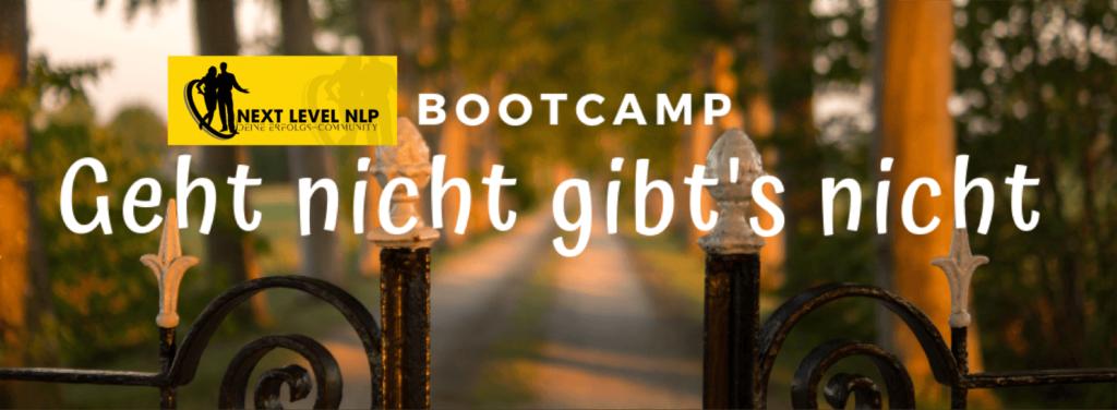 Auswege, wenn es im Coaching nicht weiter geht-Bootcamp-NLP-Kurzseminar