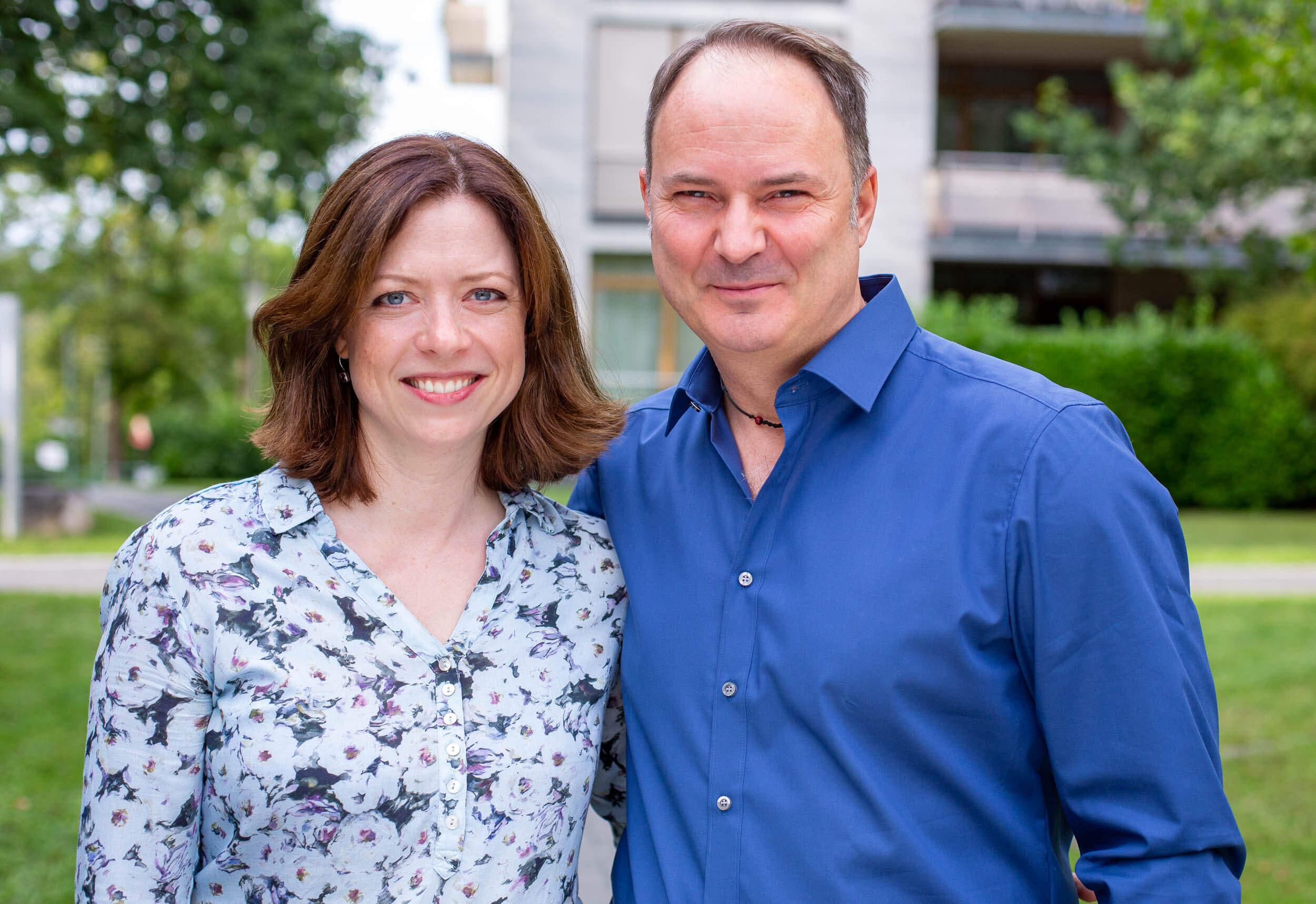Romina und Gary Schell laden zum NLP-Club ein